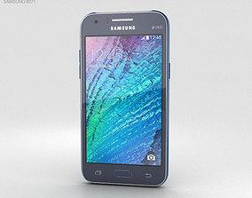 Samsung Galaxy J1 Blue 3D model
