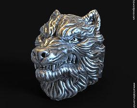 wolf vol1 ring 3D printable model