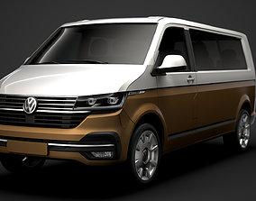3D VW Caravelle LWB T 6 1 2020