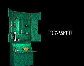 3D asset Fornasetti Trumeau