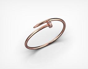 Bracelet Nail 9026 3D printable model jewelry