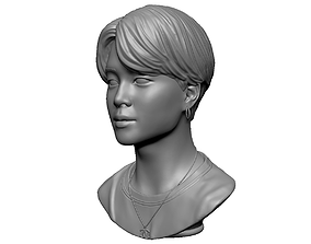 BTS Jimin 3D print model