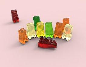 3D print model Gummy bear DAE