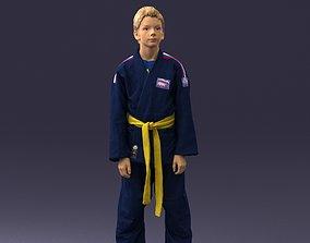 Kimono boy 0021 3D Print Ready figurines