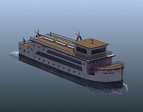 Passenger Ferry 3D model