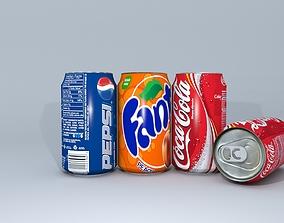 3D asset Cold Drinks