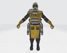 Apex Legends - Caustic Character Model