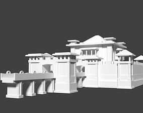 Castle 3D Model for game