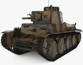 3D model Panzer 38t