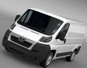 3D Peugeot Boxer Van L1H1 2006-2014