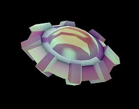 Mothership 3D model game-ready