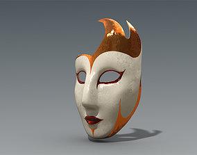 Venetian Mask 3D asset VR / AR ready