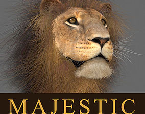 MAjestic Lion - 3d model animated