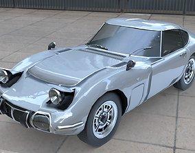 Toyota 2000 GT 3D asset