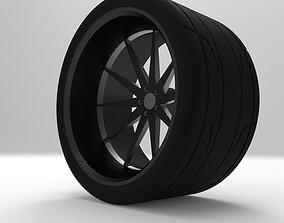 Race Wheel 3D