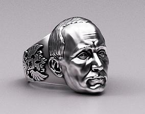 Putin Ring 3D print model