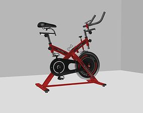 Gym Bike A three-dimensional model of a large fitness