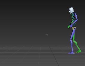 3D treadmill - running 3