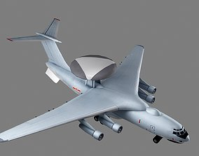 Xian KJ-2000 Mainring AWACS 3D model