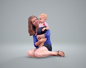 Ready-Posed 3D Family Humans MeMsS011HD2