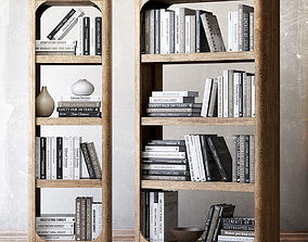 rh 3D model Book collection