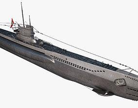 U-Boat Type VIIC 3D model