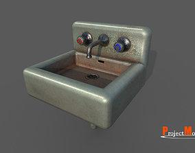 Washbasin v01 3D model