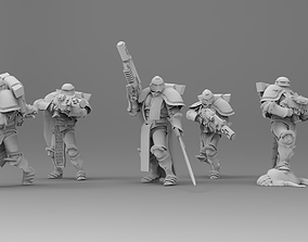 Knight of Roma - Veterans with Combi 3D printable model