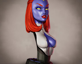 3D print model Campbells Mystique Bust