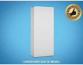 Cardboard box 3D packaging