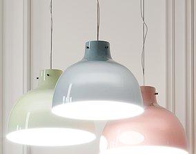 Bellissima Glossy Pendant Light By Ferruccio Laviani 3D