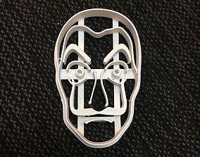 Cookie Cutter Casa de Papel Pack x3 3D print model