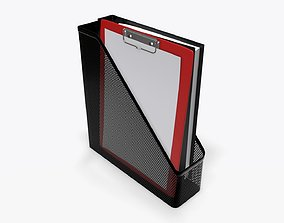 3D Paper mesh vertical holder