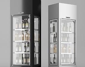 3D model Wine cooler enofrigio 4v 1p h220 refregirator