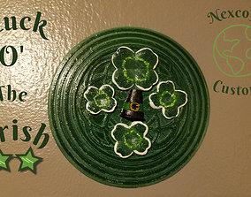 3D print model Luck o the Irish St Patricks Day sign