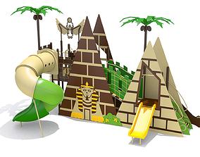 3D asset Pyramid Playground
