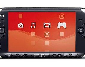 3D Sony PSP 3000