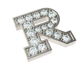 3D print model Letter R