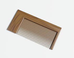Hair Comb 3D Model game-ready