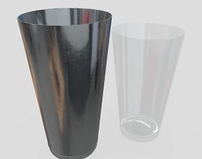 Cocktail Shaker Open 3 3D asset