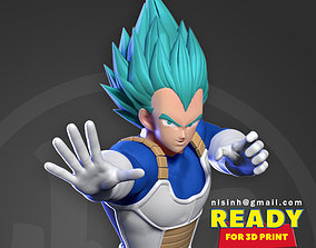 Vegeta - Ready to fight 3D printable model