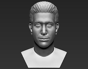 Ross Geller from Friends bust 3D printing ready stl obj 1