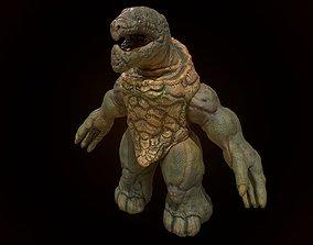 3D model Fantasy turtle monster character