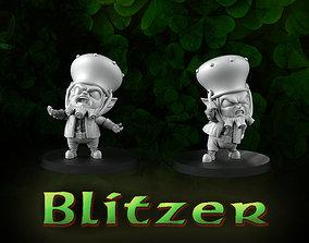 3D printable model Blitzer Leprechaun