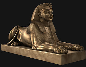 Sphinx from London 3D asset