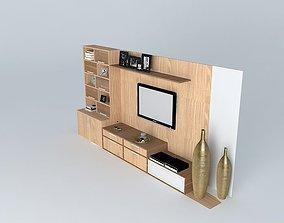Home and shelf TV 3D