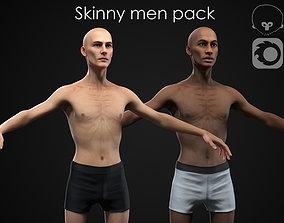 3D Skinny men pack