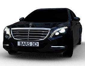 3D asset VR / AR ready Mercedes S-class