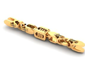 3D printable model Eslabon para cadenas chain link