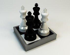 3D Model King queen